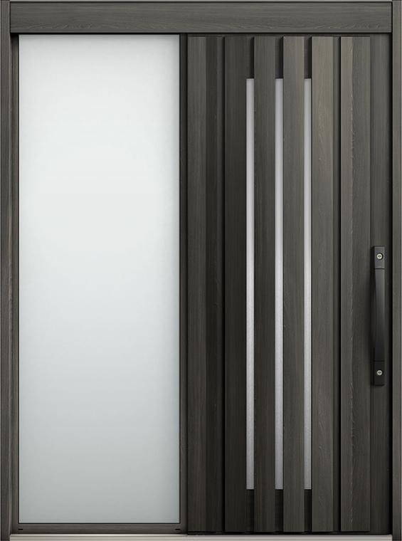 エルムーブ2 片袖 L12型 セレクトカラー システムキー / リニアスライド仕様 呼称:187 W:1,870mm × H:2,288mm スライディングドア LIXIL TOSTEM