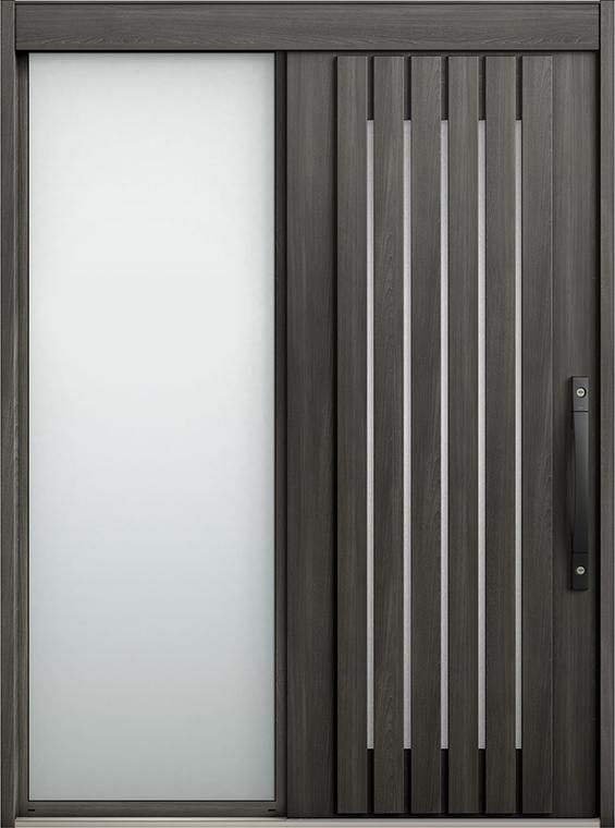 エルムーブ2 片袖 L24型 セレクトカラー システムキー / リニアスライド仕様 呼称:187 W:1,870mm × H:2,288mm スライディングドア LIXIL TOSTEM