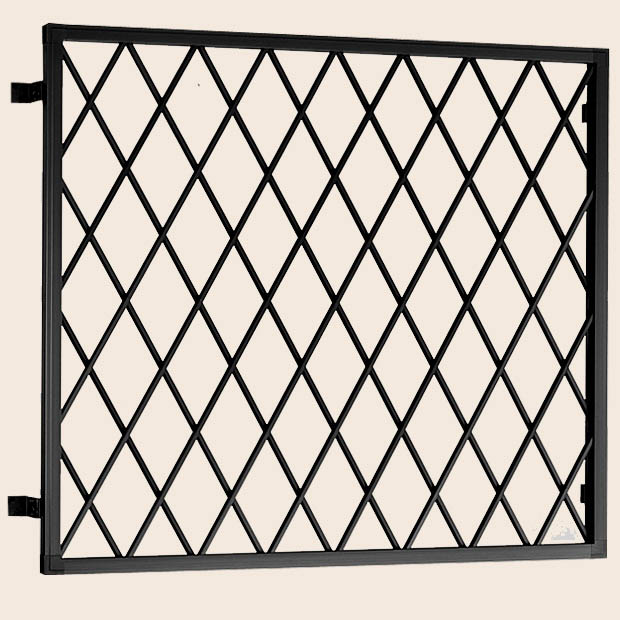 アルミ面格子 ヒシクロス 在来工法 18618 W:2,016mm × H:1,915mm 後付け 木造用 LIXIL リクシル TOSTEM トステム