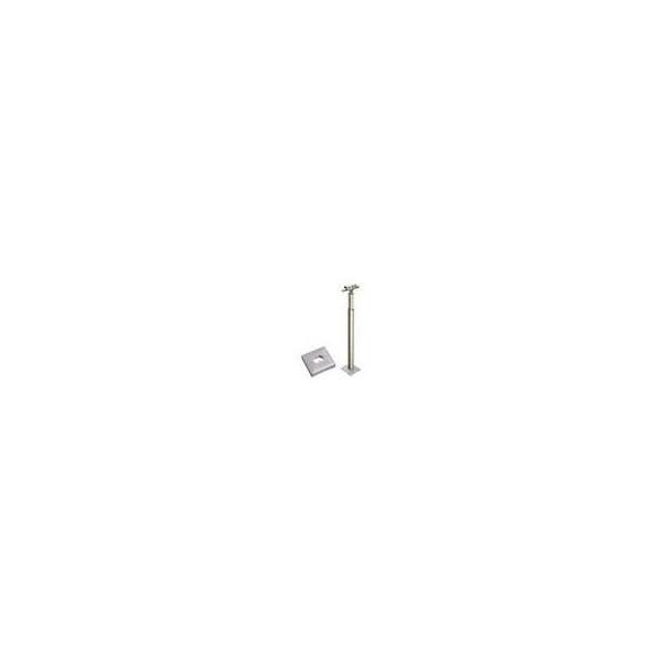 【リフォーム用品】 積水樹脂 アプローチEレールコーナー支柱 ベースプレート式(カバー付) DIY リフォーム