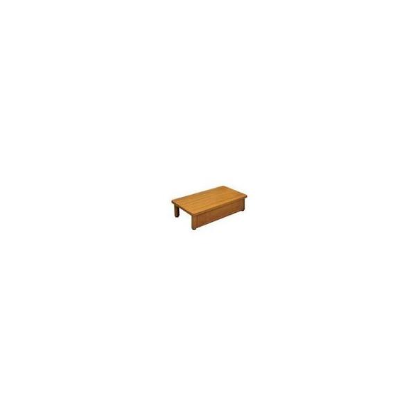 【リフォーム用品】 マツ六 木製踏台 SD600-180 600×350×180 ミディアムオーク DIY リフォーム