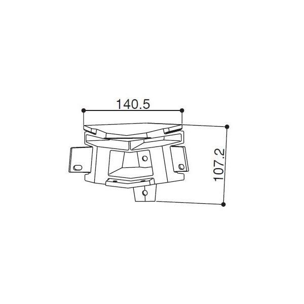 【YKK AP メンテナンス部品】 入隅垂木掛けコーナー継手 (HH-3K-16495) DIY リフォーム