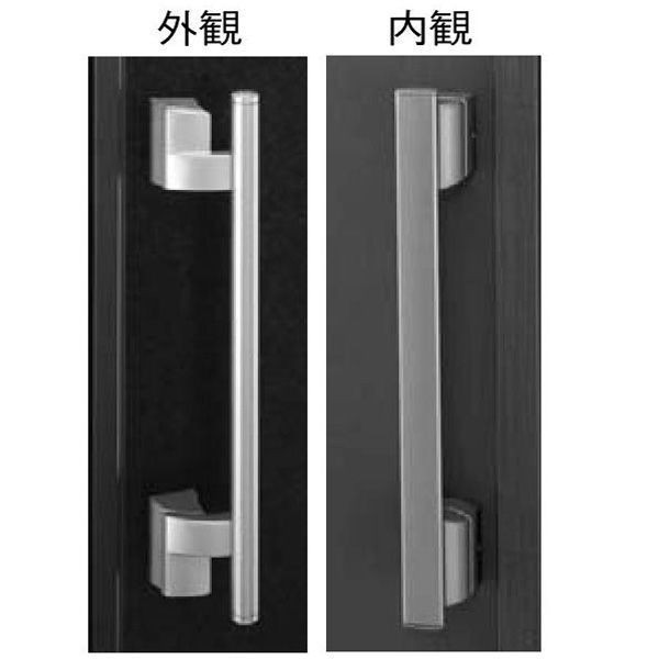 【YKK AP メンテナンス部品】 プッシュプルハンドル (HH-4K-11407) DIY リフォーム