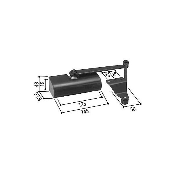 【YKK AP メンテナンス部品】 ドアクローザ (HH-K-15899) DIY リフォーム