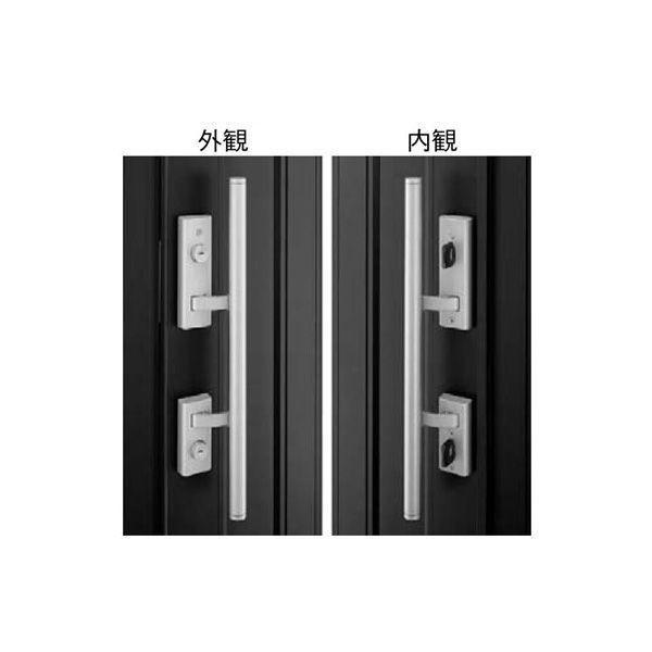 【YKK AP メンテナンス部品】 プッシュプル錠セット (KAG-D-1612A-R) DIY リフォーム