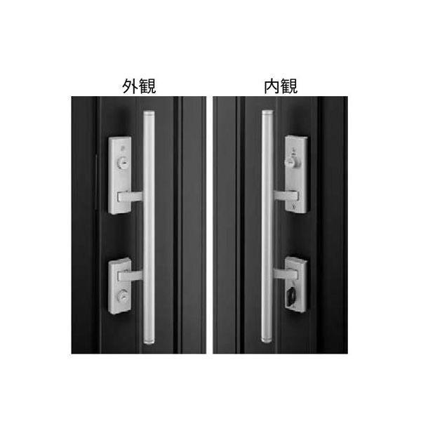 【YKK AP メンテナンス部品】 プッシュプル錠セット (KAG-D-N1612A-R) DIY リフォーム