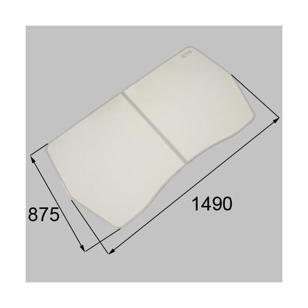 リクシル メンテナンス部品 浴槽組みフタ 2枚組み  RTPS011 LIXIL トステム メンテナンス DIY リフォーム