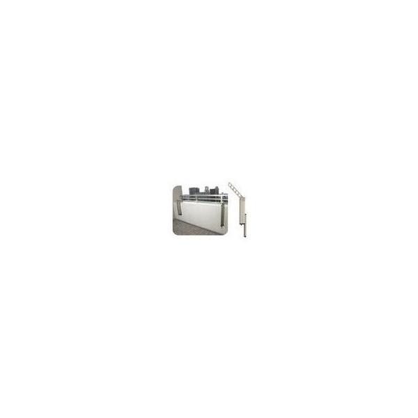 【リフォーム用品】 マツ六 物干アームM-BADX-55 ステンカラー色(2本1組) DIY リフォーム
