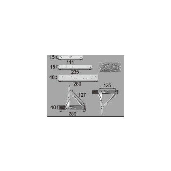 リクシル 窓・サッシ用部品 その他 その他:270縦すべり出しアームセット AZWZ970 LIXIL トステム メンテナンス DIY リフォーム