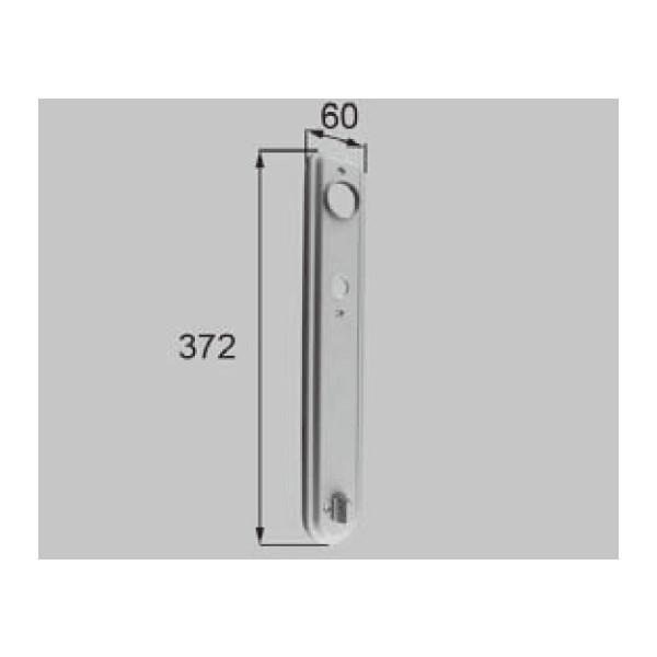 LIXIL リクシル 新日軽 ドア・引戸・内装材 ハンドル・クレセント・錠類 錠類 エスカッション 室内側 H8DL383P2 部品 DIY リフォーム