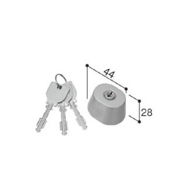 LIXIL リクシル 新日軽 ドア・引戸・内装材 ハンドル・クレセント・錠類 シリンダー URシリンダーセット 1ロック仕様 A8DL1346 部品 DIY リフォーム