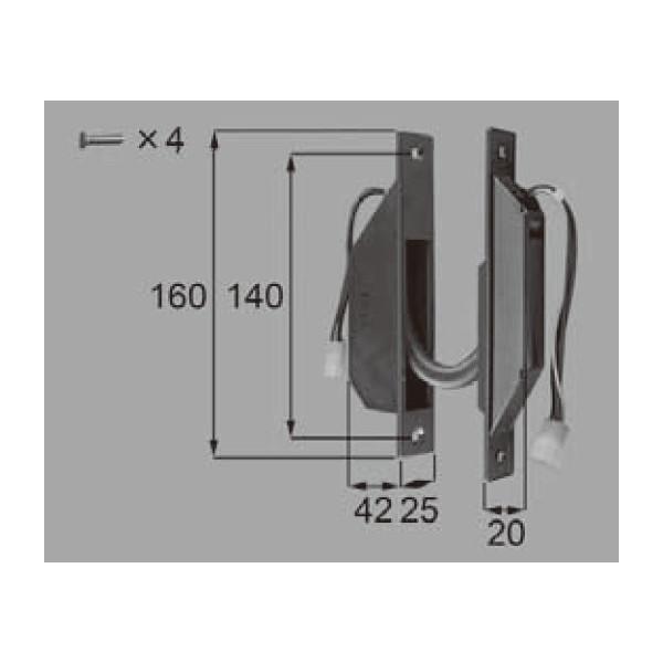 LIXIL リクシル 新日軽 ドア・引戸・内装材 電装部品・その他 電装部品 通電金具 A8EW1127 部品 DIY リフォーム