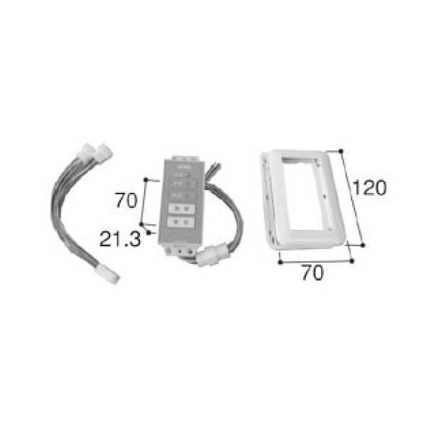 LIXIL リクシル 新日軽 ドア・引戸・内装材 電装部品・その他 電装部品 i-EL操作表示器 A8EW1215 部品 DIY リフォーム