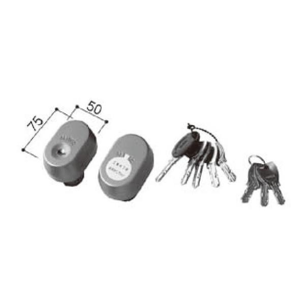LIXIL リクシル 新日軽 ドア・引戸・内装材 ハンドル・クレセント・錠類 シリンダー PS シリンダー 60mm ドア用 A8SD1193 部品 DIY リフォーム
