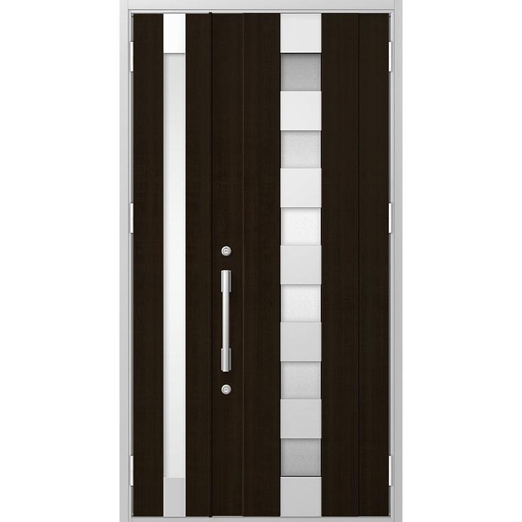 プレナスX M12型 親子ドア 特注サイズ W:1,051~1,480mm × H:1,712~2,330mm 玄関 ドア LIXIL リクシル TOSTEM トステム DIY リフォーム