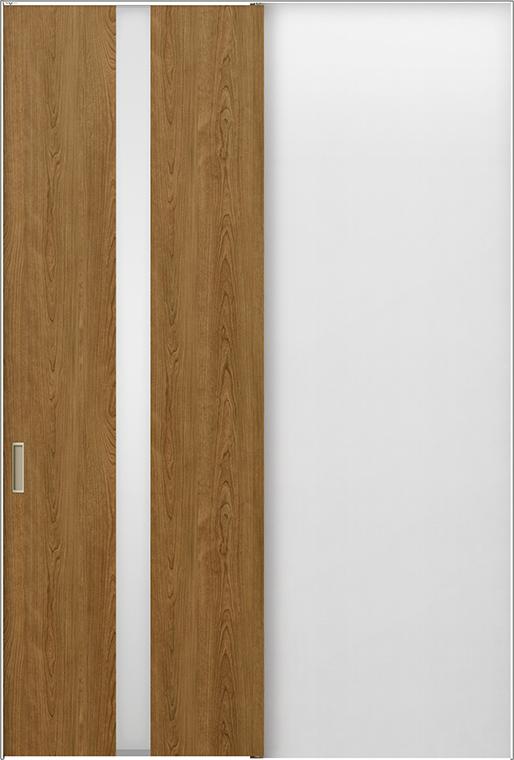 ラフィス Raffis 上吊方式 片引戸標準タイプ ライン枠 RLUK-RGW 鍵付 1224J W:1,188mm × H:2,400mm LIXIL リクシル TOSTEM トステム