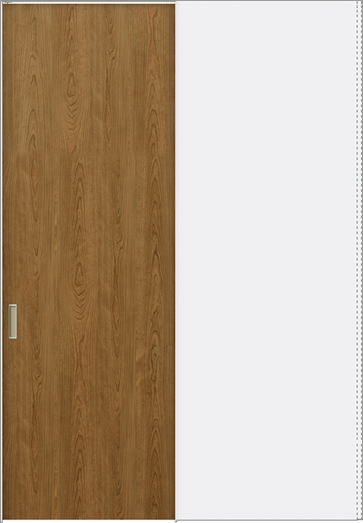 ラフィス Raffis 上吊方式 引込み戸 標準タイプ ライン枠 RLUHK-RAA 鍵なし 1424N W:1,454mm × H:2,400mm LIXIL リクシル TOSTEM トステム