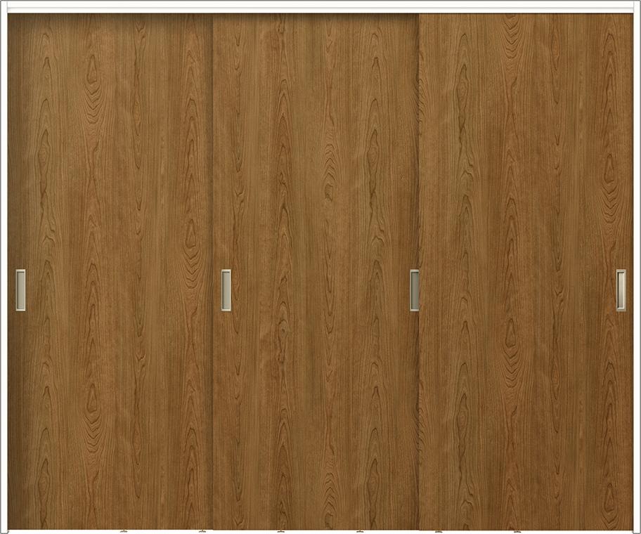 ラフィス Raffis 間仕切り 上吊方式 引違い戸 3枚建て RNMHT-RAA 鍵なし 2420Z W:2,432mm × H:2,023mm LIXIL リクシル TOSTEM トステム