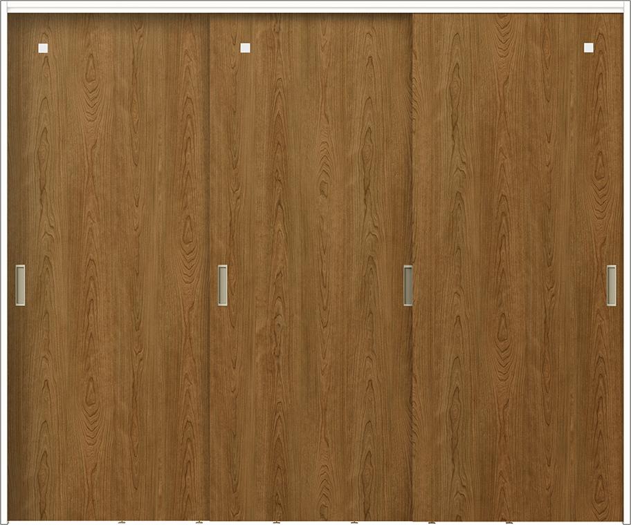 ラフィス Raffis 間仕切り 上吊方式 引違い戸 3枚建て RNMHT-RGX 鍵なし 2420Z W:2,432mm × H:2,023mm LIXIL リクシル TOSTEM トステム