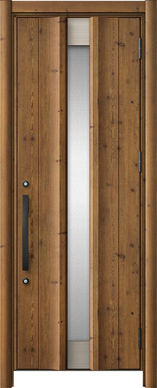 玄関ドア リシェント3 アルミ仕様 C11N型 片開きドア W:779~977mm × H:1,738~2,038mm LIXIL リクシル TOSTEM トステム