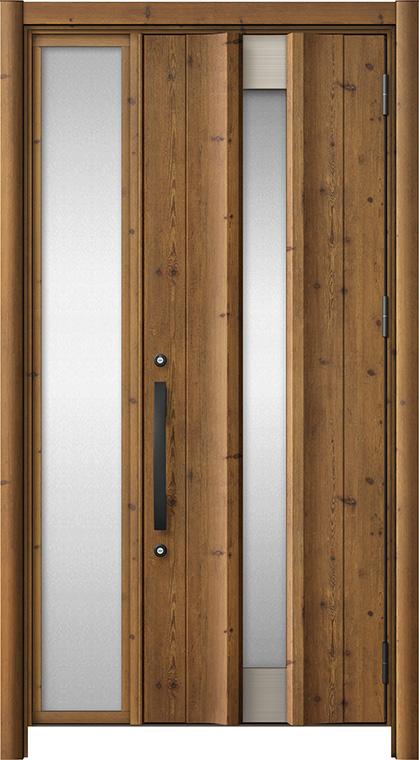 玄関ドア リシェント3 アルミ仕様 C11N型 片袖ドア W:937~1,446mm × H:2,039~2,438mm LIXIL リクシル TOSTEM トステム