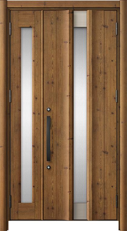 玄関ドア リシェント3 アルミ仕様 C11N型 親子ドア W:1,069~1,484mm × H:2,039~2,356mm LIXIL リクシル TOSTEM トステム