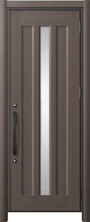 玄関ドア リシェント3 アルミ仕様 C12N型 片開きドア W:752~977mm × H:1,738~2,038mm LIXIL リクシル TOSTEM トステム