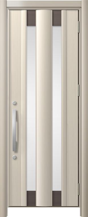 玄関ドア リシェント3 アルミ仕様 C14N型 片開きドア W:761~977mm × H:1,738~2,038mm LIXIL リクシル TOSTEM トステム