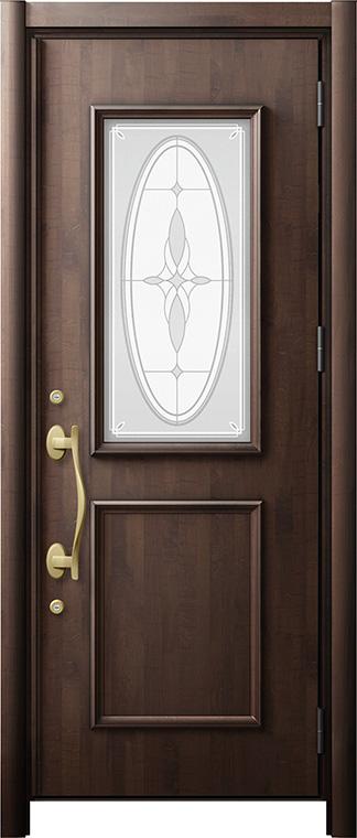 玄関ドア リシェント3 断熱仕様 K2 C15型 片開きドア W:901~977mm × H:2,040~2,356mm LIXIL リクシル TOSTEM トステム