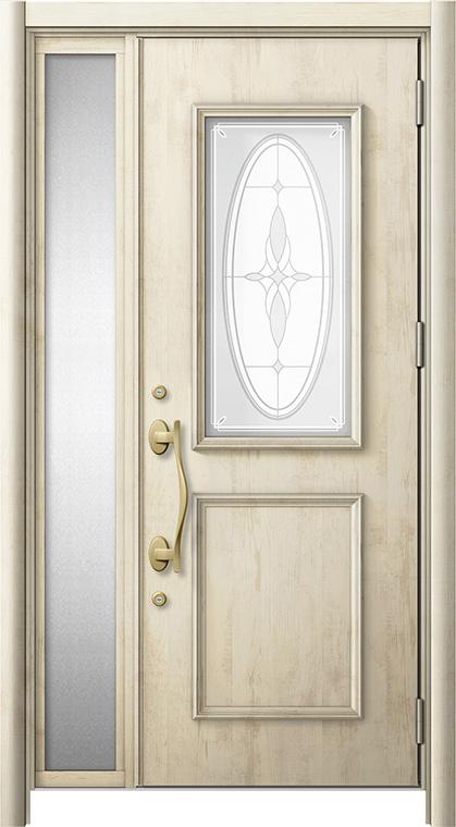 玄関ドア リシェント3 断熱仕様 K2 C15型 片袖ドア W:1,035~1,100mm × H:2,040~2,356mm LIXIL リクシル TOSTEM トステム