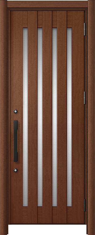 玄関ドア リシェント3 アルミ仕様 C17N型 片開きドア W:714~977mm × H:2,039~2,438mm LIXIL リクシル TOSTEM トステム