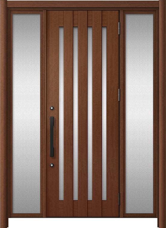 玄関ドア リシェント3 アルミ仕様 C17N型 両袖ドア W:1,030~1,895mm × H:2,039~2,438mm LIXIL リクシル TOSTEM トステム