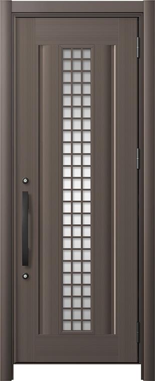 玄関ドア リシェント3 アルミ仕様 C20N型(ガラス別途) 片開きドア W:738~977mm × H:2,039~2,438mm LIXIL リクシル TOSTEM トステム