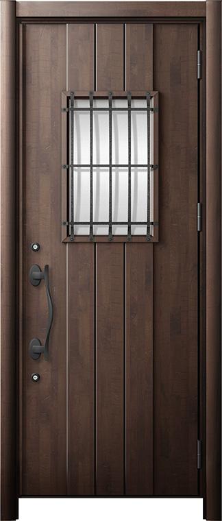 玄関ドア リシェント3 断熱仕様 K2 D44型 片開きドア W:901~977mm × H:2,040~2,439mm LIXIL リクシル TOSTEM トステム