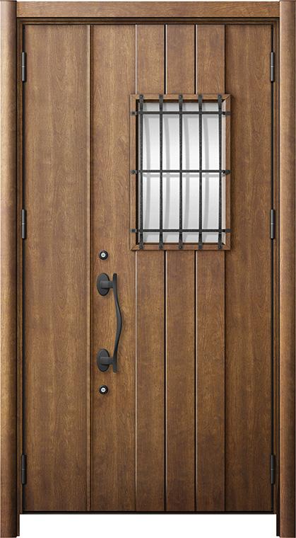 玄関ドア リシェント3 断熱仕様 K2 D44型 親子ドア W:1,201~1,480mm × H:1,739~2,039mm LIXIL リクシル TOSTEM トステム