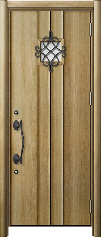 玄関ドア リシェント3 断熱仕様 K2 D77型 片開きドア W:865~977mm × H:2,040~2,439mm LIXIL リクシル TOSTEM トステム