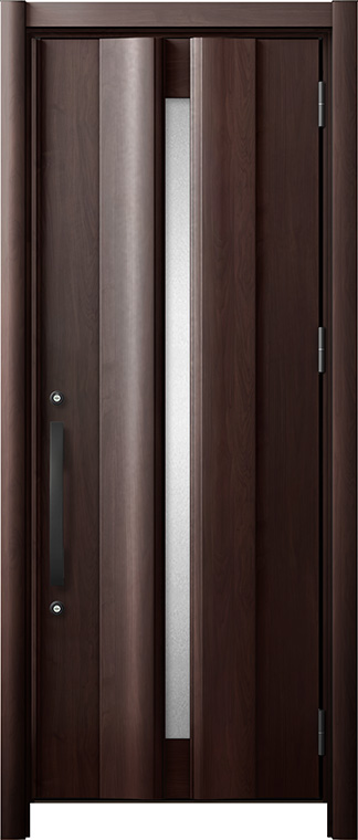 玄関ドア リシェント3 断熱仕様 K2 G12型 片開きドア W:865~977mm × H:1,739~2,039mm LIXIL リクシル TOSTEM トステム
