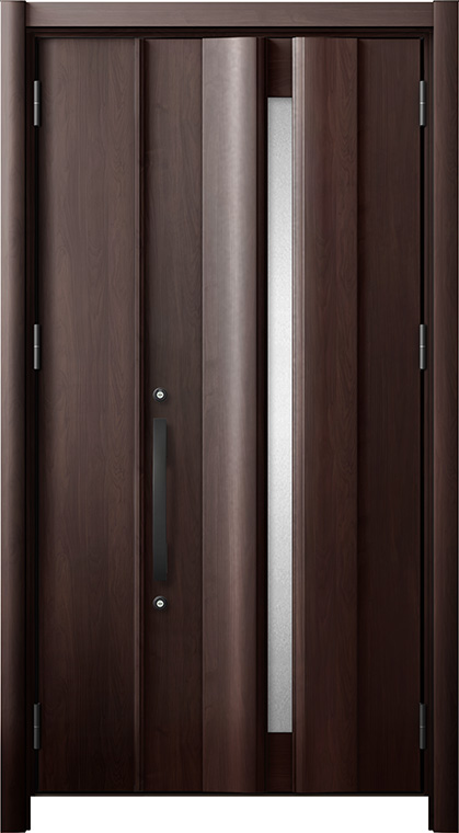 玄関ドア リシェント3 断熱仕様 K2 G12型 親子ドア W:978~1,200mm × H:1,739~2,039mm LIXIL リクシル TOSTEM トステム
