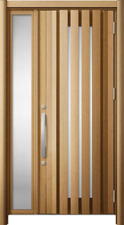 玄関ドア リシェント3 断熱仕様 K2 G14型 片袖ドア W:1,086~1,200mm × H:2,040~2,439mm LIXIL リクシル TOSTEM トステム