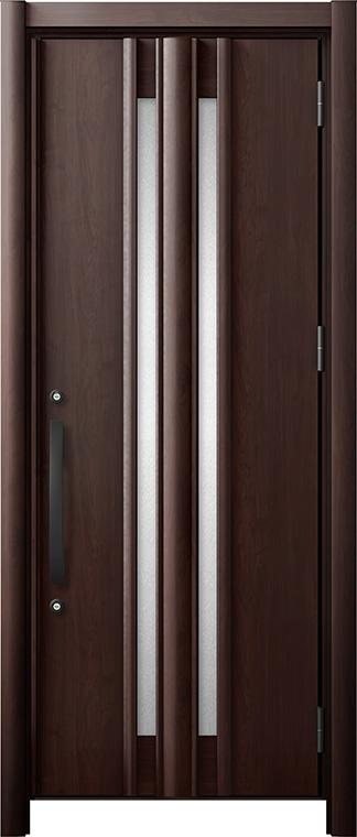 玄関ドア リシェント3 断熱仕様 K2 G15型 片開きドア W:714~864mm × H:1,739~2,039mm LIXIL リクシル TOSTEM トステム