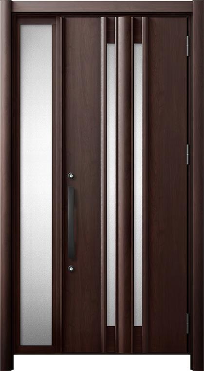玄関ドア リシェント3 断熱仕様 K2 G15型 片袖ドア W:872~1,100mm × H:2,040~2,439mm LIXIL リクシル TOSTEM トステム