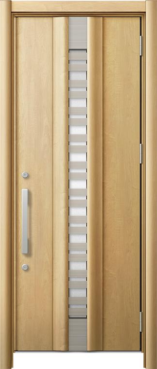 玄関ドア リシェント3 断熱仕様 K2 G82型(採風タイプ) 片開きドア W:820~864mm × H:1,840~2,039mm LIXIL リクシル TOSTEM トステム