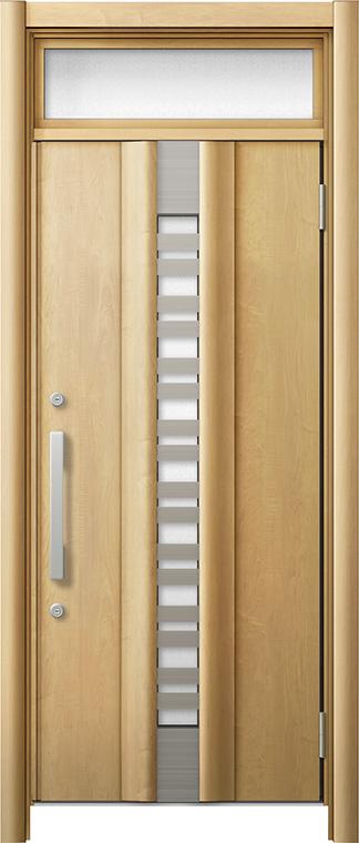 玄関ドア リシェント3 断熱仕様 ランマ付 K2 G82型 採風タイプ 片開きドア W 820~864mm × H 2 301~2 600mm LIXIL リクシル TOSTEM トステム お買い得 送别会 プレミアム•学割 対象 お歳暮