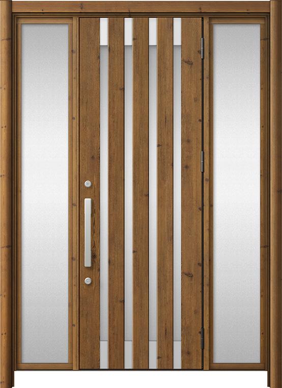 玄関ドア リシェント3 アルミ仕様 M11N型 両袖ドア W:1,030~1,895mm × H:1,738~2,038mm LIXIL リクシル TOSTEM トステム