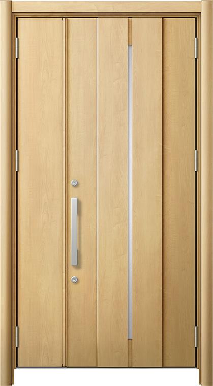 玄関ドア リシェント3 断熱仕様 K2 M12型 親子ドア W:978~1,200mm × H:1,739~2,039mm LIXIL リクシル TOSTEM トステム