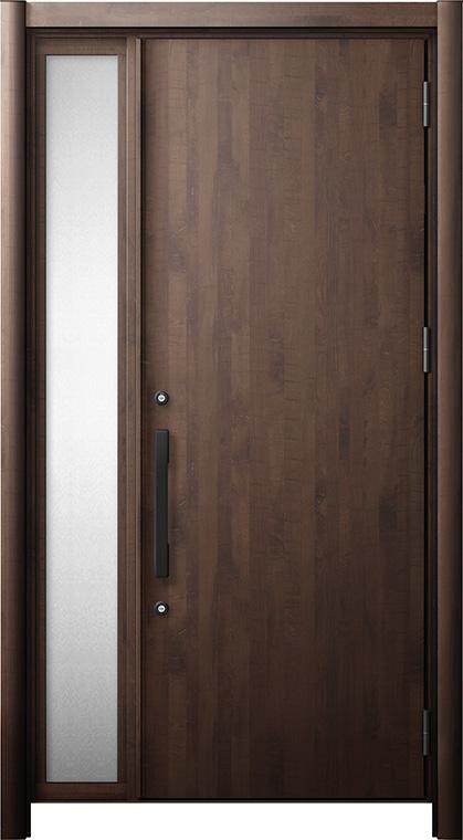 玄関ドア リシェント3 断熱仕様 K4 M17型 片袖ドア W:872~1,336mm × H:1,739~2,039mm LIXIL リクシル TOSTEM トステム
