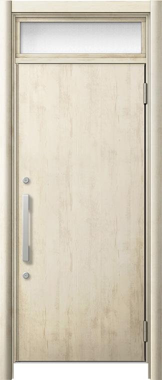 玄関ドア リシェント3 断熱仕様 ランマ付 K2 M17型 片開きドア W:714~977mm × H:2,301~2,600mm LIXIL リクシル TOSTEM トステム