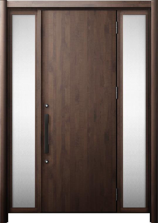玄関ドア リシェント3 断熱仕様 K4 M17型 両袖 W:1,030~1,695mm × H:1,739~2,039mm リクシル トステム