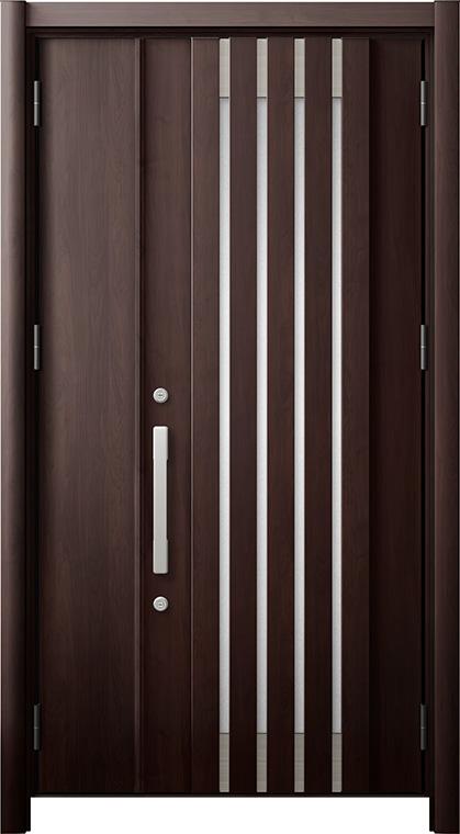玄関ドア リシェント3 断熱仕様 K4 M27型 親子ドア W:978~1,480mm × H:2,040~2,439mm LIXIL リクシル TOSTEM トステム