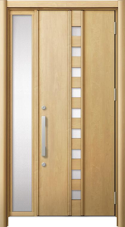 玄関ドア リシェント3 断熱仕様 K4 M28型 片袖ドア W:872~1,336mm × H:2,040~2,439mm LIXIL リクシル TOSTEM トステム